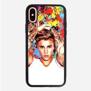 Accessories - Justin Bieber Art iPhone X 8 7 plus 6S 5S SE case